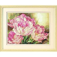 Набор для вышивания Dimensions 35175 Tulip Trio Cross Stitch Kit, фото 1