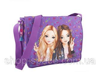 Top Model сумка на плечо фиолетовая