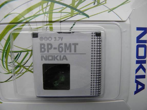 Аккумулятор для nokia bp 6mt n81, e51, n82, 6720 копия, фото 2