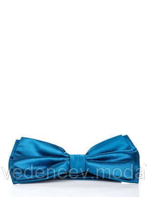 Бабочка двухслойная голубая