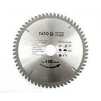 Диск пильный по алюминию YATO YT-6091