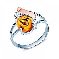 Серебряное кольцо с золотом и янтарем 092К Ян 092К Ян. 1048 UAH 89a6d4d5d6d