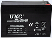 Аккумулятор (АКБ) UKC 12 вольт 12 А/ч.