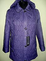 Женская стёганная куртка с капюшоном демисезонная, фото 1