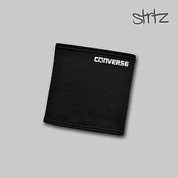 Теплый горловик Converse черного цвета  (люкс копия)
