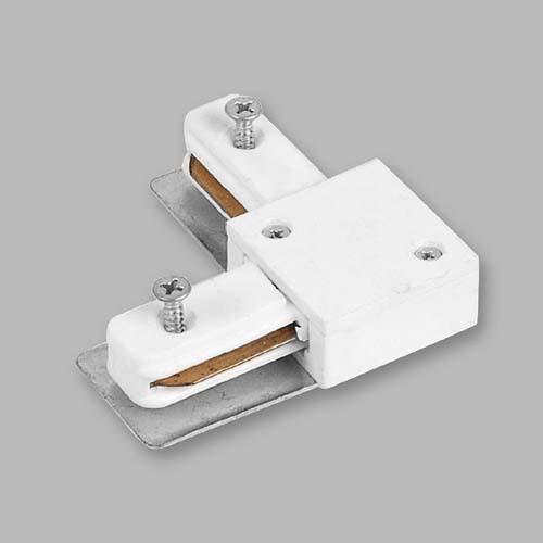 Коннектор  90° угловой LD1001 белый для соединения шинопровода