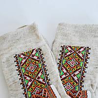 Носки мужские льняные Вышиванка (р.25), фото 1