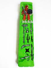 Набор фигурок для анимационного творчества StikBot Остров сокровищ / пираты PIRATE Movie set 2110, фото 2