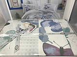Комплект постельного белья  Hobby поплин размер евро Sueno зеленый, фото 2