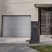 Секционные гаражные ворота KRUZIK. Цифровая печать Dura Print. Колекция Next Gen