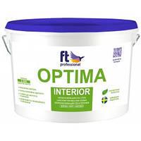 Краска латексная для стен и потолков FT Professional Optima Interior белый Base A 3 л