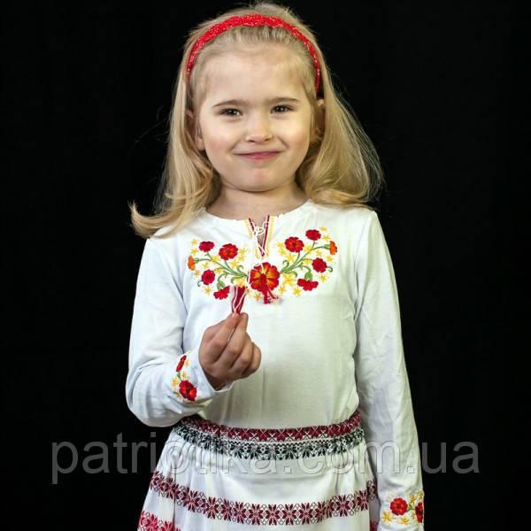Детская вышиванка с длинным рукавом | Дитяча вишиванка з довгим рукавом