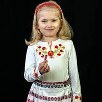 Детская вышиванка с длинным рукавом | Дитяча вишиванка з довгим рукавом, фото 1