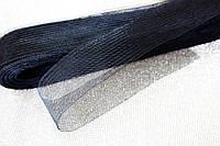 Ригилин мягкий (кринолин) Черный  ширина 12см*1м
