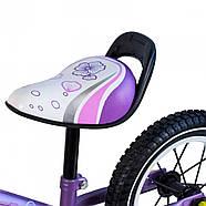 Беговел для детей Platin колеса надувные фиолетовый Гарантия качества Быстрая доставка, фото 7