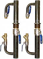 Байпас для систем отопления DN 50 кран/длинный , фото 1