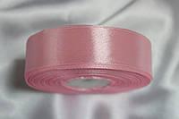 Лента атласная 2,5см.Цвет нежно-розовый.Цена за 1м