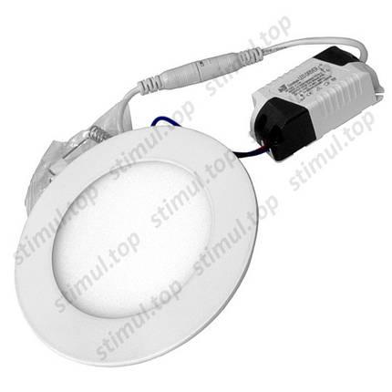 Светодиодный LED светильник Ecostrum DownLight 3W нейтральный, фото 2
