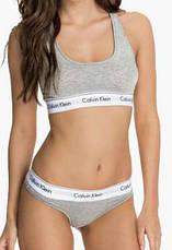 Женское нижнее белье Calvin Klein (стринги, шортики, топик) реплика, фото 3