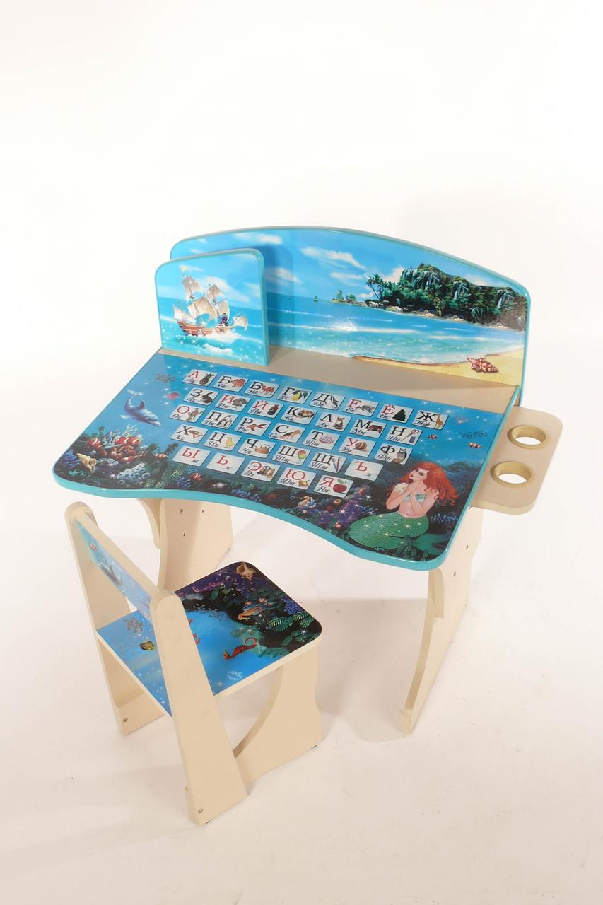 Детская парта со стулом Baby Elit Морская фантазия