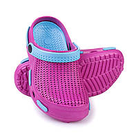 Сабо пляжные детские Spokey Fliper 33 Розово-голубые (s0104)