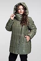 Зимняя Стильная куртка СУПЕРБАТАЛ до 70 размера