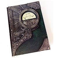 Блокнот ежедневник в стиле стимпанк Оригинальный подарок мужчине
