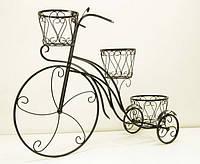 Подставки  кованые для цветов,Велосипед 3 большой