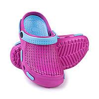 Сабо пляжные детские Spokey Fliper 35 Розово-голубые (s0106)
