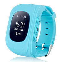 Детские умные часы с GPS трекером UWatch Q50 Kid smart watch Blue
