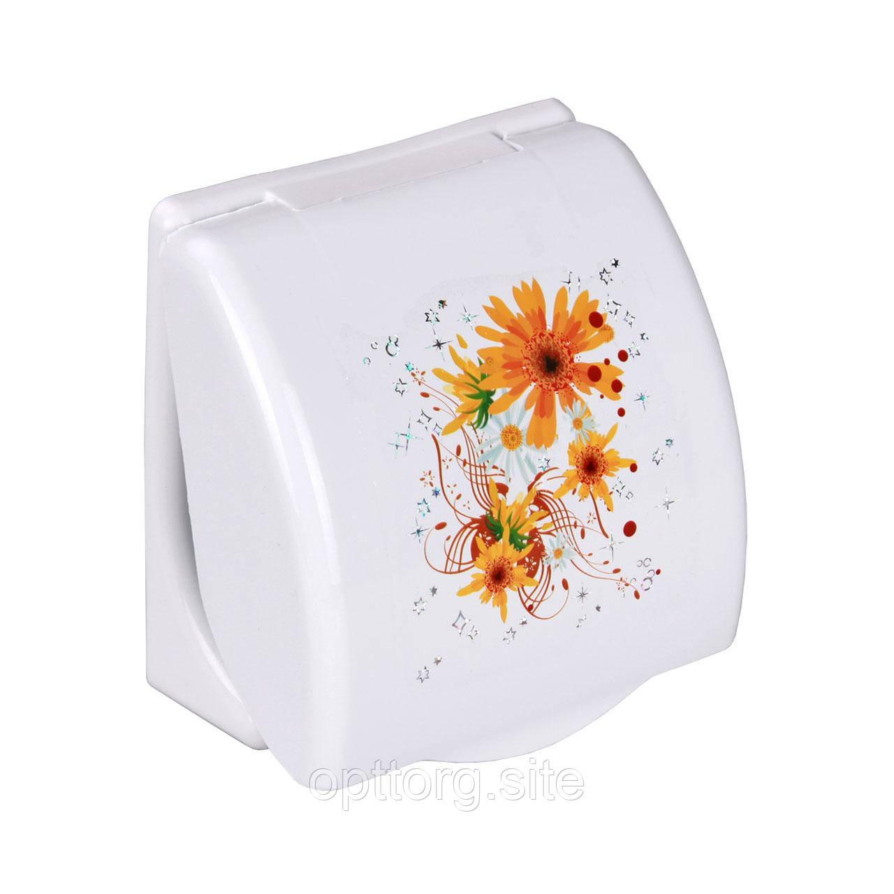 Держатель для туалетной бумаги Модерн 15х14х6 см Альтернатива М1136