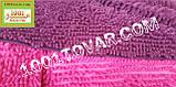 """Коврики из микрофибры """"Макароны или дреды"""" для широкого применения, 90х60 см., бургунди синий цвет, фото 2"""