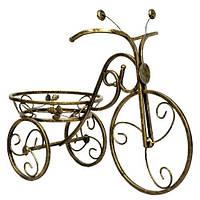 Подставки  кованые для цветов,велосипед 1 малый, фото 1