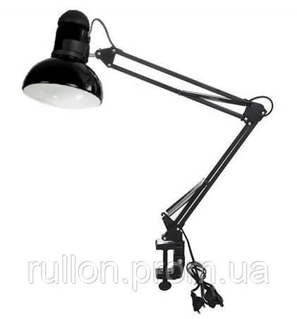 Настольная лампа Loga L-600 (с зажимом) Антрацит (Черная)