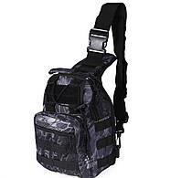 Слинг сумка тактическая многофункциональная однолямочная через плечо 9 расцветок (+ видеообзор)