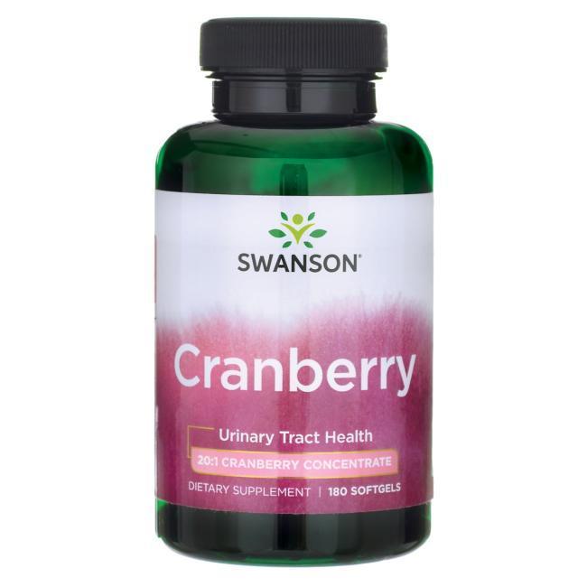 Здоровье мочевого пузыря и почек - клюква в капсулах (Cranberry), 180 капсул