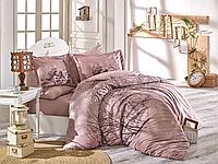 Комплект постельного белья  Hobby поплин размер евро Margherita Bej