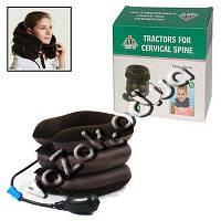Надувной ортопедический воротник для шеи с системой пневматического вытяжения Tractors for cervical spine , фото 1