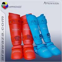 Фути та щитки для карате Arawaza M червоні