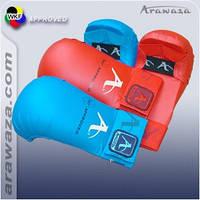 Перчатки Arawaza накладки червоні розмір М