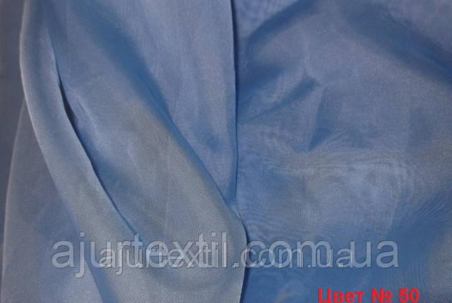 Вуаль однотонний (блакитний), фото 2