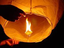 Бумажные летающие фонарики оптом