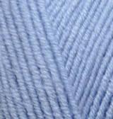 Пряжа для вязания Лана голд 40 св голубой