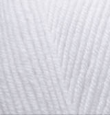 Пряжа для вязания Лана голд 55 белый
