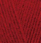 Пряжа для вязания Лана голд 56 красный