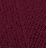 Пряжа для вязания Лана голд 57 вишня