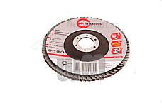 Круг лепестковый торцевой Intertool - 125 мм, Р36