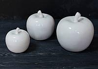 Яблоко фарфор средн. белое 1 шт