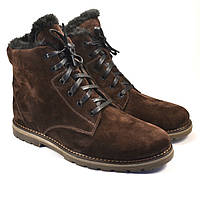 Большой размер замшевые зимние коричневые мужские ботинки Rosso Avangard BS  Whisper Vel Brown da9e0007ff172