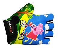 Перчатки для фитнеса, детские Power Play 5473 стрейч ХХS-S Миньен